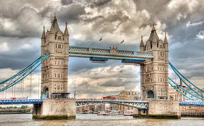 London Bridge in England. Flickr:Hans Splinter