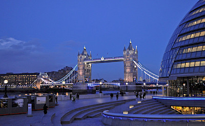 London Bridge in London, United Kingdom. Flickr:Harshil Shah
