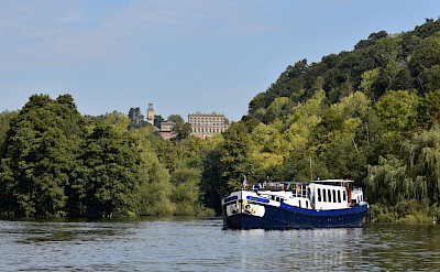 Boating on the Thames River on the Magna Carta in England. ©TO