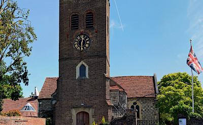 St Nicholas Church in Old Shepperton, England. Flickr:stu smith