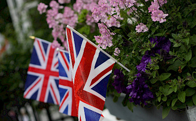 Union Jack flags in England! Flickr:Robert