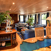 Lounge | Magna Carta | Small Cruise Ship Luxury Tour
