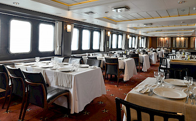 Dining Room | Stella Australis | Argentina Cruise Ship