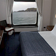 AA category - double bed | Stella Australis | Argentina Cruise Ship