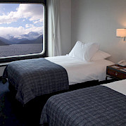 AA category - twin bed | Stella Australis | Argentina Cruise Ship