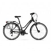 Kross 2 hybrid touring bike with step through frame