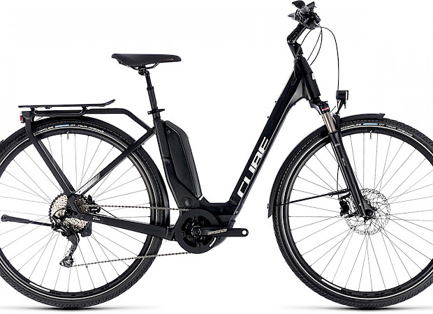 E-Bike CUBE men's or women's touring bike