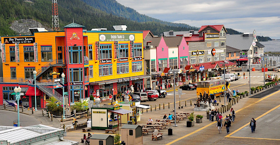 Ketchikan, Alaska. Flickr:Kimberly Vardeman