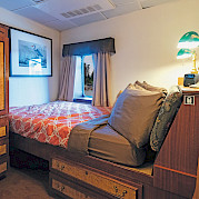 Navigator cabin | Wilderness Legacy | Pacific Northwest