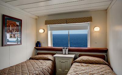 Navigator twin cabin | Wilderness Adventurer | Alaska Cruise Tour