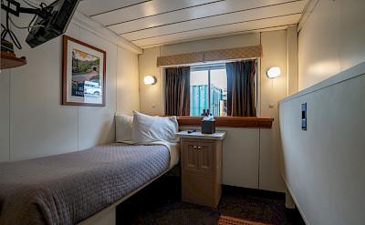 Single navigator cabin | Wilderness Adventurer | Alaska Cruise Tour