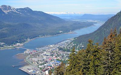Aerial in Juneau, Alaska. Flickr:Larry Koester