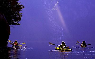 Kayaking in Misty Fjords National Monument, Alaska. Flickr:Martin Standford