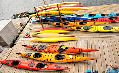 Kayaks in Ketchikan, Alaska. Flickr:Kimberly Vardeman