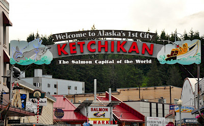 Salmon Capital of the World is Ketchikan, Alaska. Flickr:Kimberly Vardeman