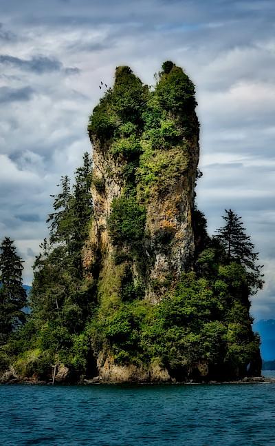 New Eddystone Rock at Behm Canal, Alaska. Flickr:sbmeaper1