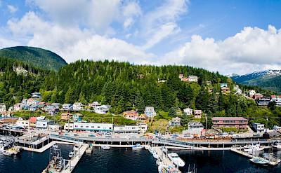 Panorama of Ketchikan, Alaska. Flickr:ThreelfByBike