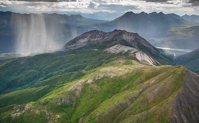 Rain at Wrangell Mountains, Alaska. Flickr:Neal Herbert