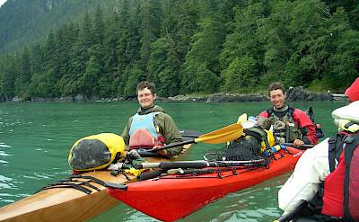 Kayaking at Stephen's Passage, Alaska. Flickr:Joseph