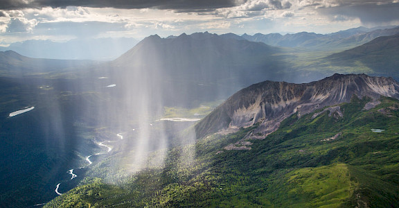 Rain at Wrangell Mountains, Alaska. Flickr:National Park Service Alaskan Region