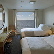 Category AAA - twin bed | Stella Australis | Argentina Cruise Ship