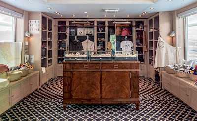 Small gift shop | Ventus Australis | Argentina Cruise Ship