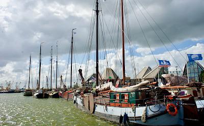 Boats resting in Stavoren, Friesland, the Netherlands. Flickr:Bruno Rijsman