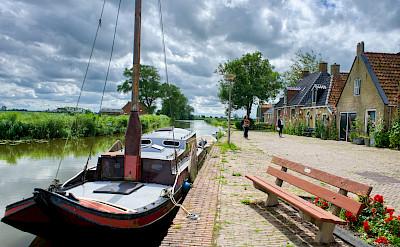 Biking through Stavoren, Friesland, the Netherlands. Flickr:Bruno Rijsman