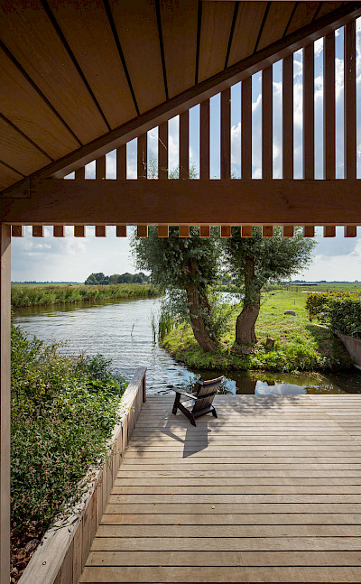 Looking out over Friesland, the Netherlands. Flickr:Branchevereniging Nederlandse Architectenbureaus