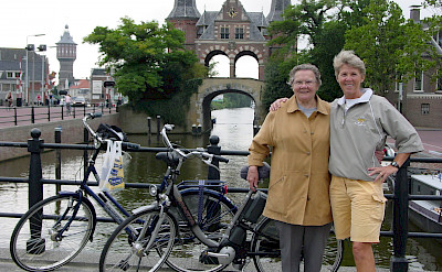 TripSite's Hennie with her late mother in Sneek, Friesland, the Netherlands.