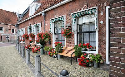 Beautiful brick architecture in Sneek, Friesland, the Netherlands. Flickr:bert knottenbeld