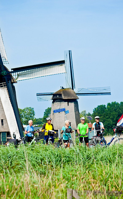 Bike rest in Holland. ©TO