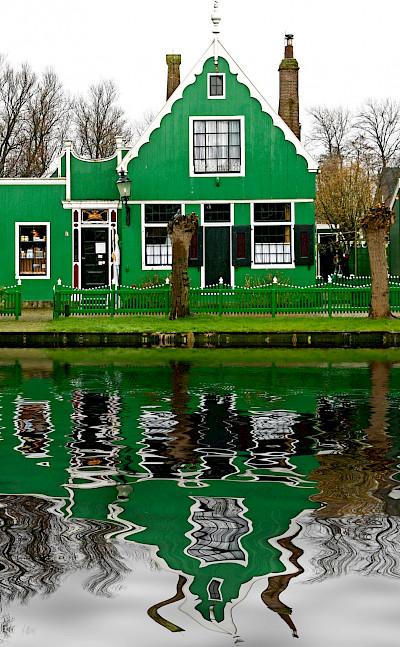 Zaanse Schans, the famous Open-Air Museum in Zaandam. ©TO