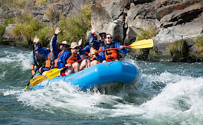 Deschutes river rafting in Oregon, USA. ©TO