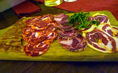 Cured meats in Portugal. CC:tak.wing