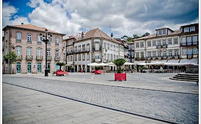 Ponte de Lima Square in North Portugal. Flickr:Jos Dielis