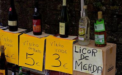 Wine for sale in Valença, Portugal. Flickr:Mario Sanchez Prada