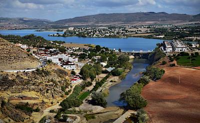 Guadalete River in Arcos de la Frontera, Spain. Fickr:Joselyn Erskine-Kellie