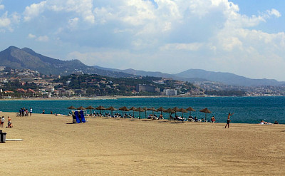 Beach in Málaga, Andalusia, Spain. Flickr:Wolfgang Manousek
