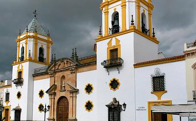 Plaza del Socorro in Ronda in Málaga, Andalusia, Spain. Flickr:Wolfgang Manousek