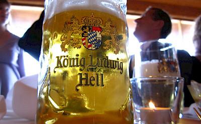 Beer break in Bavaria, Germany. Flickr:Leon Brocard