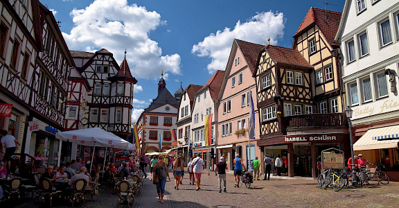 Lohr-am-Main in Germany. Flickr:Ben