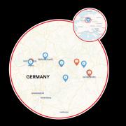 Mainz to Würzburg Map