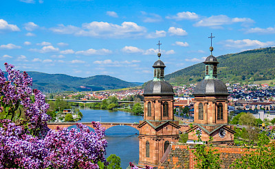 Over the Main River in Miltenberg, Germany. Flickr:Kiefer