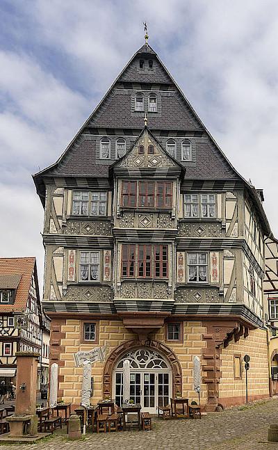 Great architecture in Miltenberg, Germany. CC:BytFisch