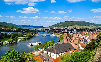 Along the river in Miltenberg, Germany. Flickr:Kiefer