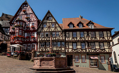 Main square in Miltenberg, Bavaria, Germany. Flickr:Carsten Frenzl