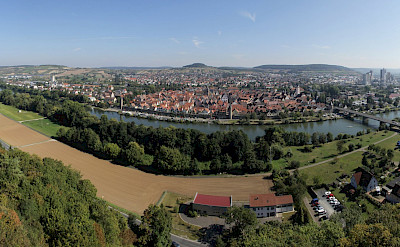 Karlstad from Karlsburg Castle in Germany. Flickr:Bjorns