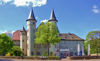 Schloss in Lahr-am-Main, Germany. CC:Sven Reschke