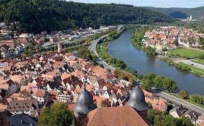 Along the river in Wertheim, Germany. Flickr:Christian Schmitt